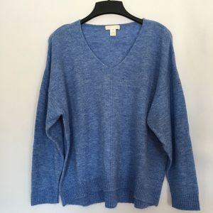 H&M Fine Knit V-Neck Sweater